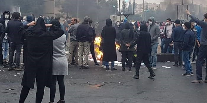 Iran's Government Faces Protests 'On the Tarmac'