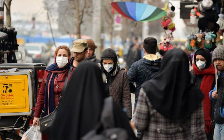 """""""We are facing a catastrophe in the third wave of the coronavirus, but still the government is dragging people onto the streets,"""" said Minoo Mohraz, member of Iran's National Covid-19 task Force."""
