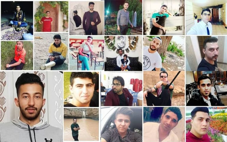 Iranian Rights Groups Reveal the Names of November Victims