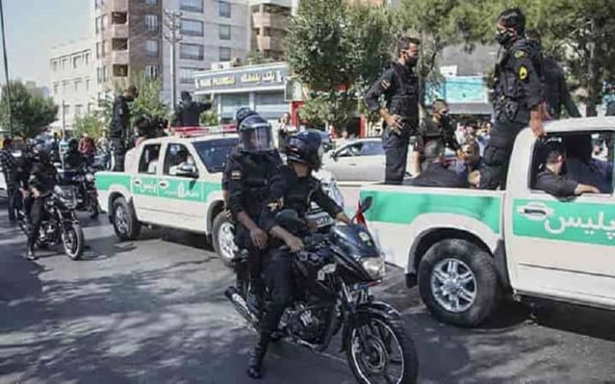 On the anniversary of the November 2019 protests, security forces patrol in the streets and arbitrary arrest Iranian youths to spread fear.