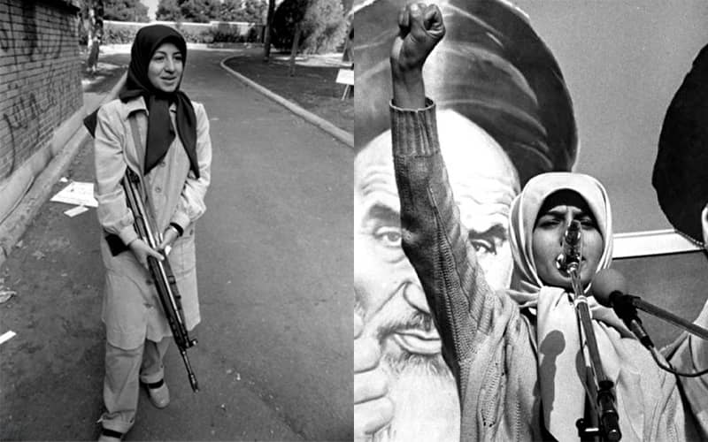 Massoumeh Ebtekar, deputy president and spokesperson of U.S. embassy's hostage-takers in 1979