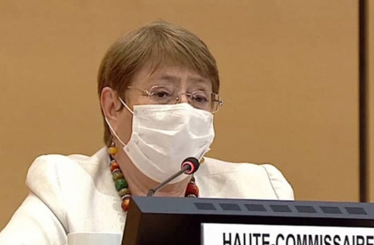 """""""Under international human rights law, States are responsible for the well-being, as well as the physical and mental health, of everyone in their care, including everyone deprived of their liberty,"""" Michelle Bachelet said."""