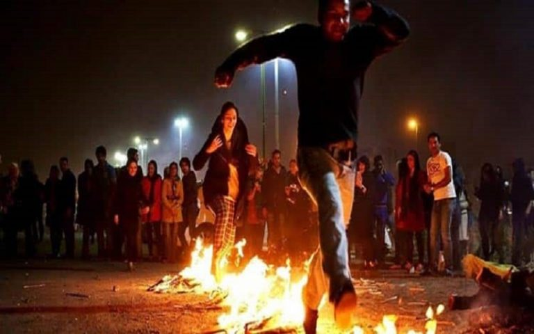 Iran's Fire Festival Continues in Spite of Authorities' Threats