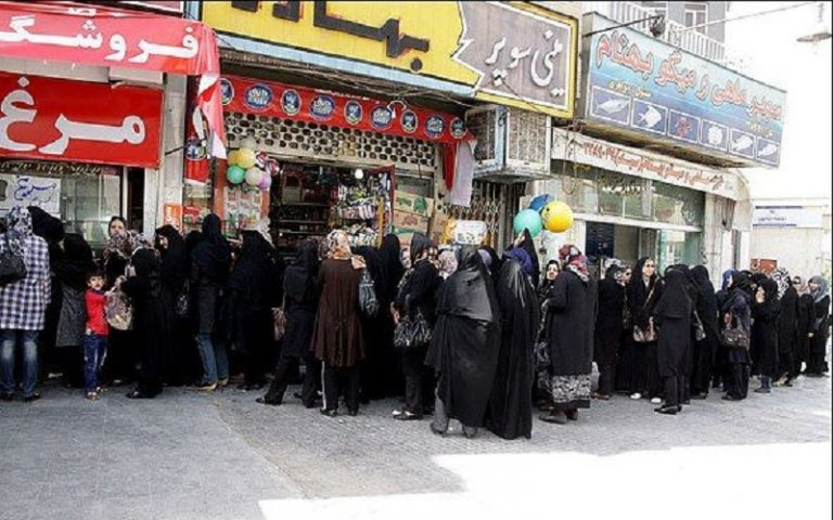 Iran: 'Outcome of the JCPOA, Long Queues for Chicken and Oil'