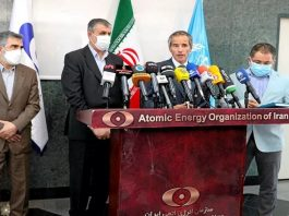 Rafael Grossi visited Iran on Sunday, September 12, 2021, to warn the regime about its non-compliance with the IAEA.